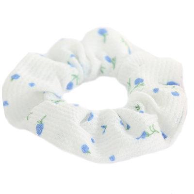 Chouchou lilly blanc