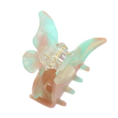 Barette à cheveux butterfly azur