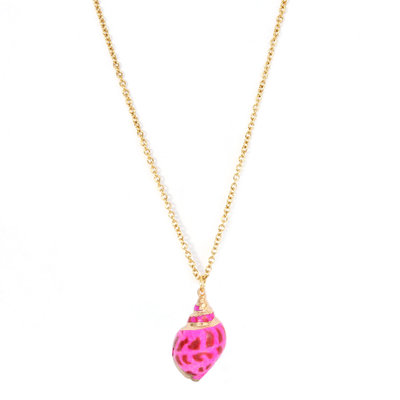 Collier Palaeo shell rose
