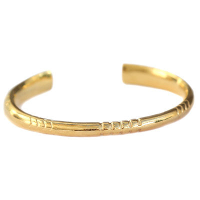 Soul sister bracelet gold