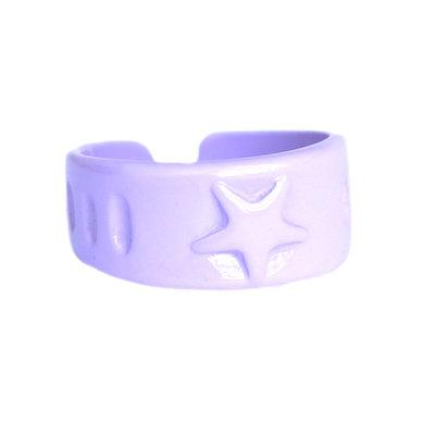 Bague lilac star