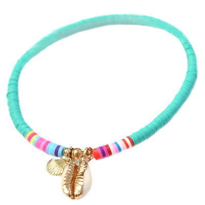 Anklet surfclub turquoise