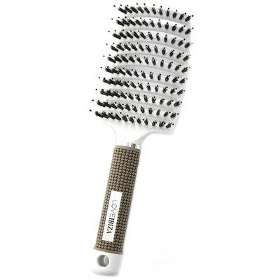 Brosse à cheveux anti-enchevêtrement blanc