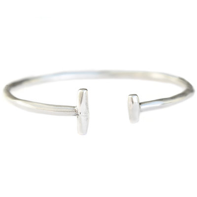 Bracelet tribe argent
