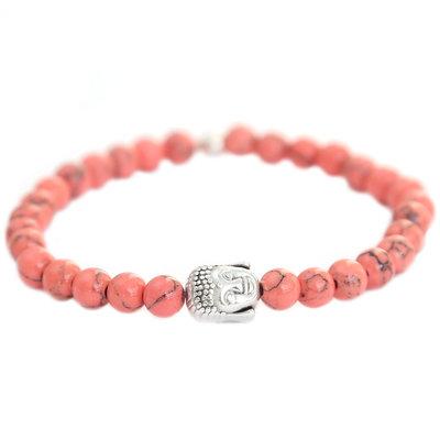 Bracelet Bouddha pierre de corail