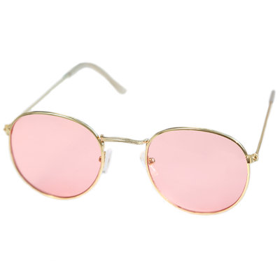 Lunettes de soleil pilot light pink