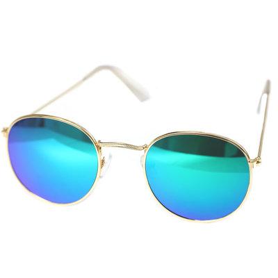 Lunettes de soleil pilot blue green