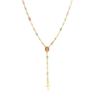 Collier rosary faith