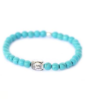 Bracelet Bouddha Pierre turquoise