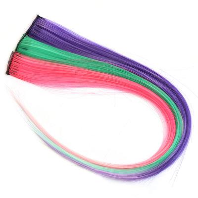 Extensions de cheveux clips festival lot de 3