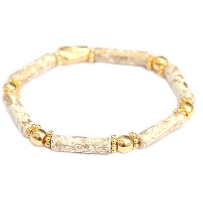 Bracelet Tuscany white gold