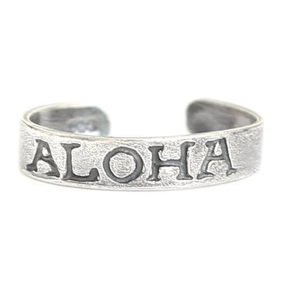 Anneau d'orteil Aloha (argent massif)