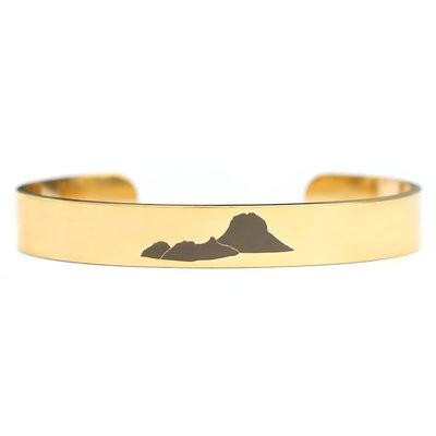 Es Vedra bracelet or