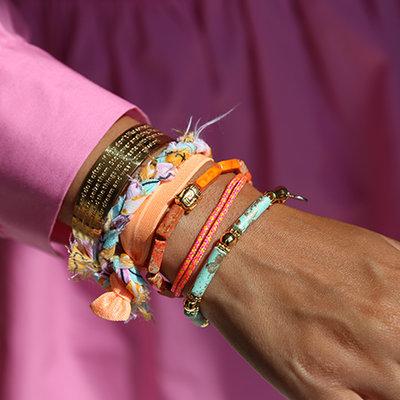 SET - Orange braid