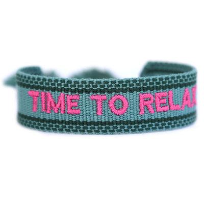 Bracelet tissé time to relax