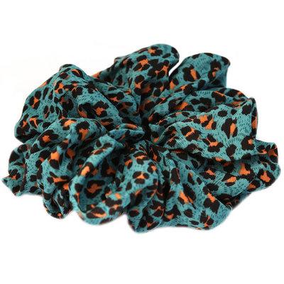 Chouchou large minty leopard
