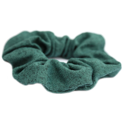 Chouchou knitted verts melee