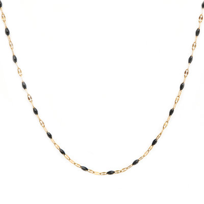 Collier little chain noir