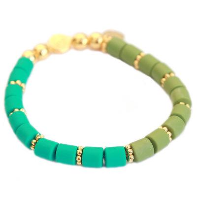 Bracelet dolce green teal