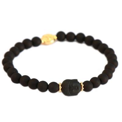 Bracelet buddha black