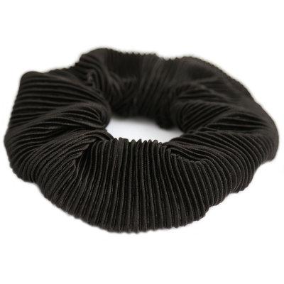 Chouchou plisse noir