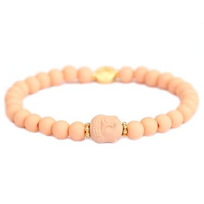 Bracelet buddha peach
