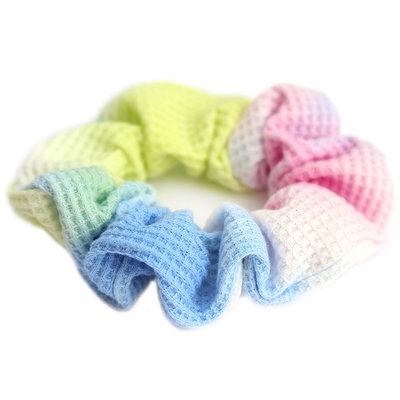 Chouchou waffle tie dye rainbow