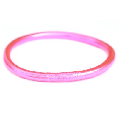 Bracelet buddhist good luck rosa
