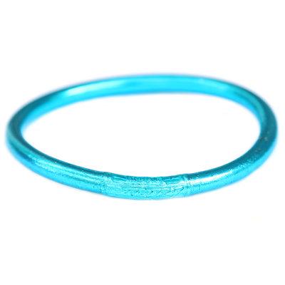 Bracelet buddhist good luck bleu