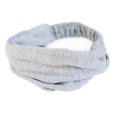 Bandeau jersey gris