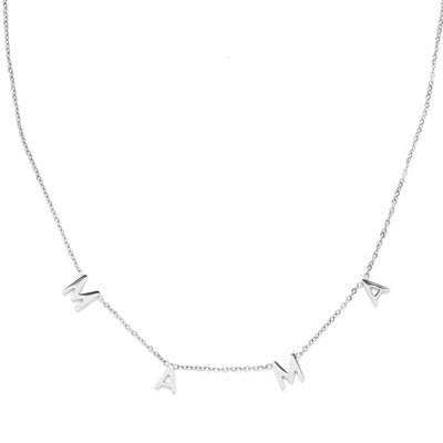 Collier MAMA argent