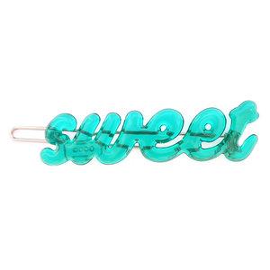 Haarclip sweet turquoise