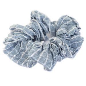 Scrunchie zahar blue